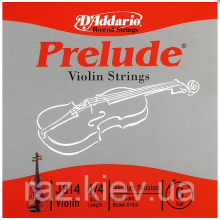 Струна G для скрипки (никелевая намотка) D`ADDARIO J814 4/4M Prelude G 4/4M, фото 2