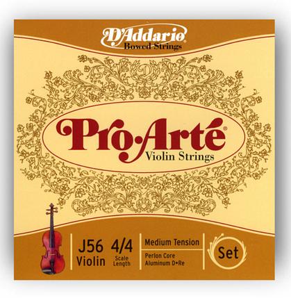 Струны для скрипки Размер 4/4 D`ADDARIO J56 4/4M Pro Arte 4/4M, фото 2