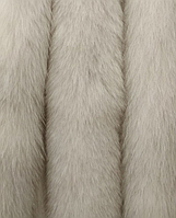 Меховая опушка из шкуры (спина) песца натуральная 80 см