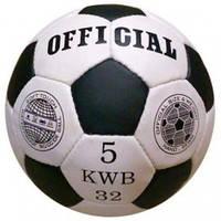 Мяч футбольный Official 2500-20А 3 цвета