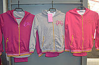 Трикотажные спортивные костюмы тройки для девочек.Размеры 116-146 см.Фирма TAURUS Венгрия, фото 1