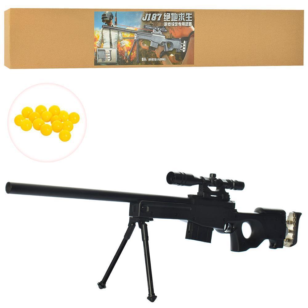 Снайперская винтовка J187 на пульках