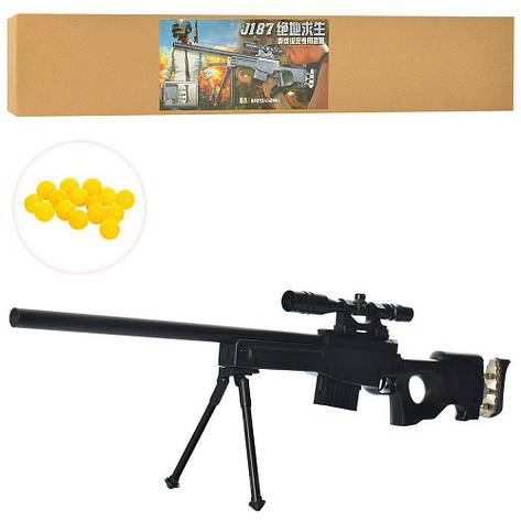 Снайперская винтовка J187 на пульках, фото 2