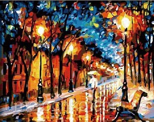 Картина по номерам Дождливая осень 40 х 50 см (BRM131)