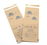 Крафт пакеты для стерилизации в сухожаровом шкафе 100*200 мм, 100 шт