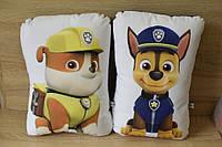 Подушка дитяча Щенячий Патруль в асортименті, габардин, холофайбер, 39*23см, в пакеті, фото 1