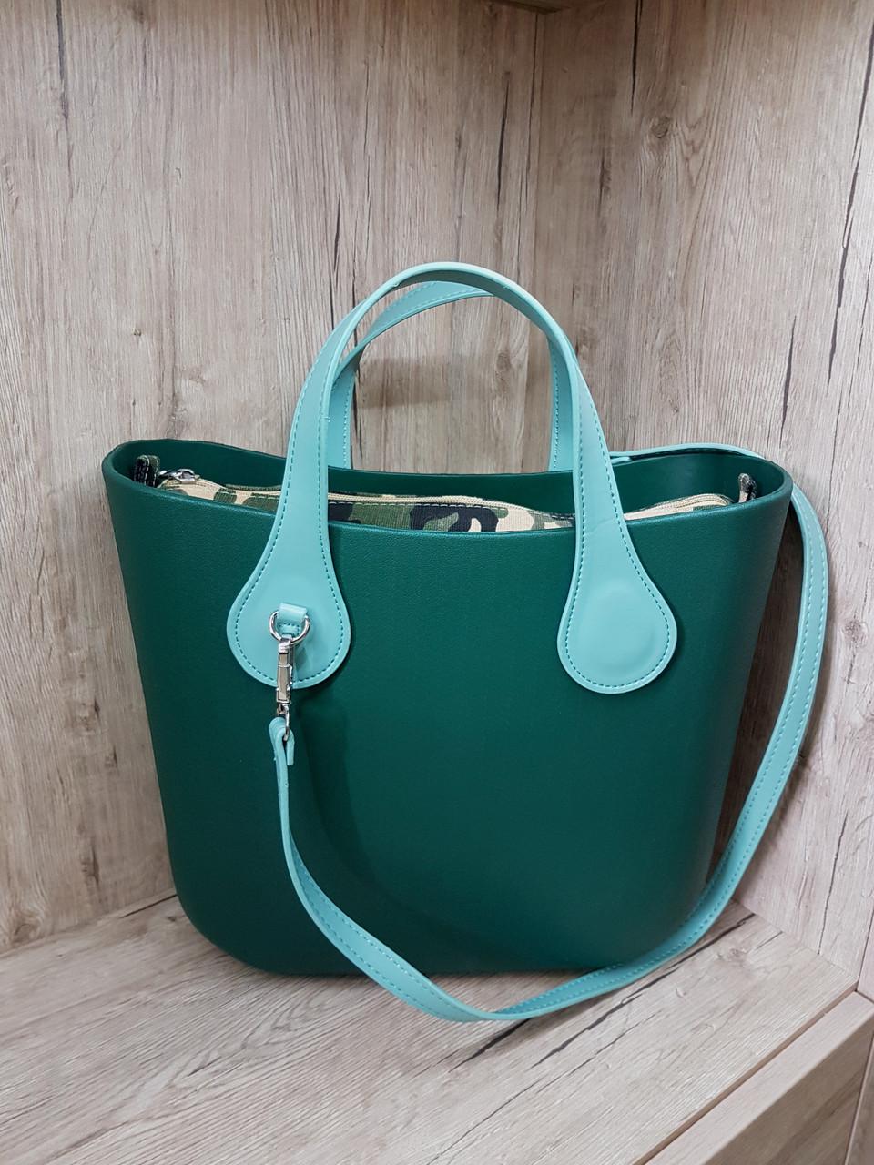 c0c71fde4d85 Сумка IQ bag Mini зеленый, цена 1 198 грн., купить в Днепре — Prom ...