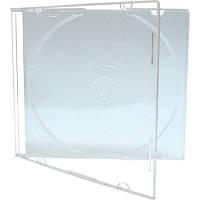 Slim box CD прозрачный