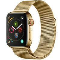 Ремешок ARM стальной Milanese Loop для Apple Watch 42/44mm gold