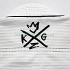 Кимоно для Джиу-Джитсу KINGZ Sovereign 2.0 Белое, фото 5