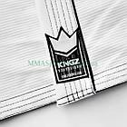 Кимоно для Джиу-Джитсу KINGZ Sovereign 2.0 Белое, фото 8