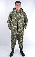 Камуфляжный костюм с капюшоном пиксель