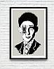 ЛУЧШАЯ ЦЕНА! Трендовые глянцевые постеры на стену, классические плакаты Фрэнк Синатра, Боб Марли, Кафка