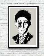ЛУЧШАЯ ЦЕНА! Трендовые глянцевые постеры на стену, классические плакаты Фрэнк Синатра, Боб Марли, Кафка, фото 1