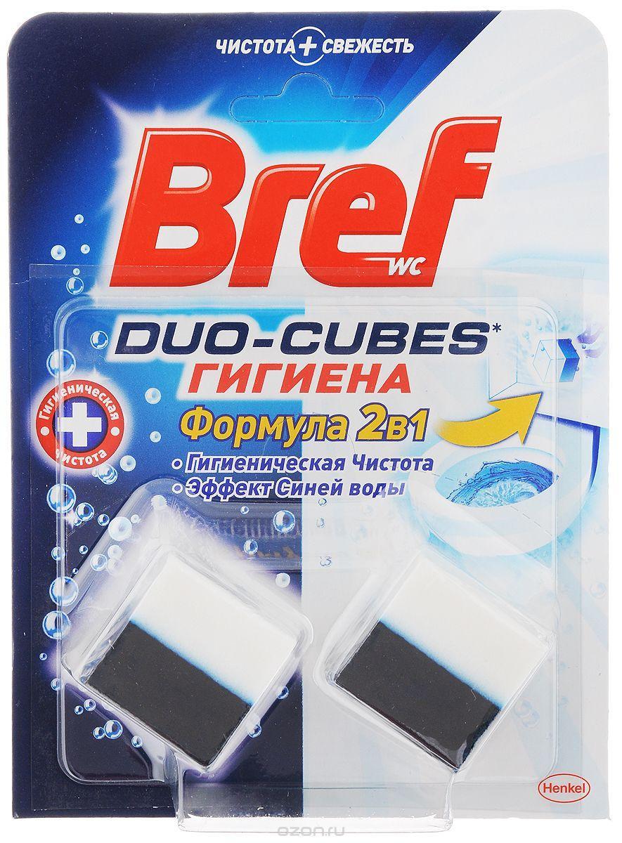Чистящие кубики для унитаза Bref (100г.)