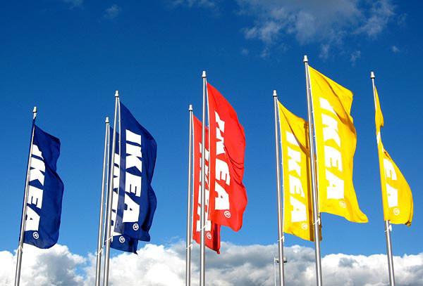 Флаг с логотипом, изготовление флагов с логотипом