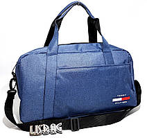 Спортивная сумка на тренировку копия известного бренда, Синяя