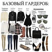 Основы составления базового гардероба женщины