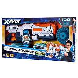 X - Shot Скорострельный бластер EXCEL Turbo Advance