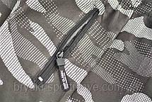 Штаны зимние мужские камуфляжные  под манжет , фото 2