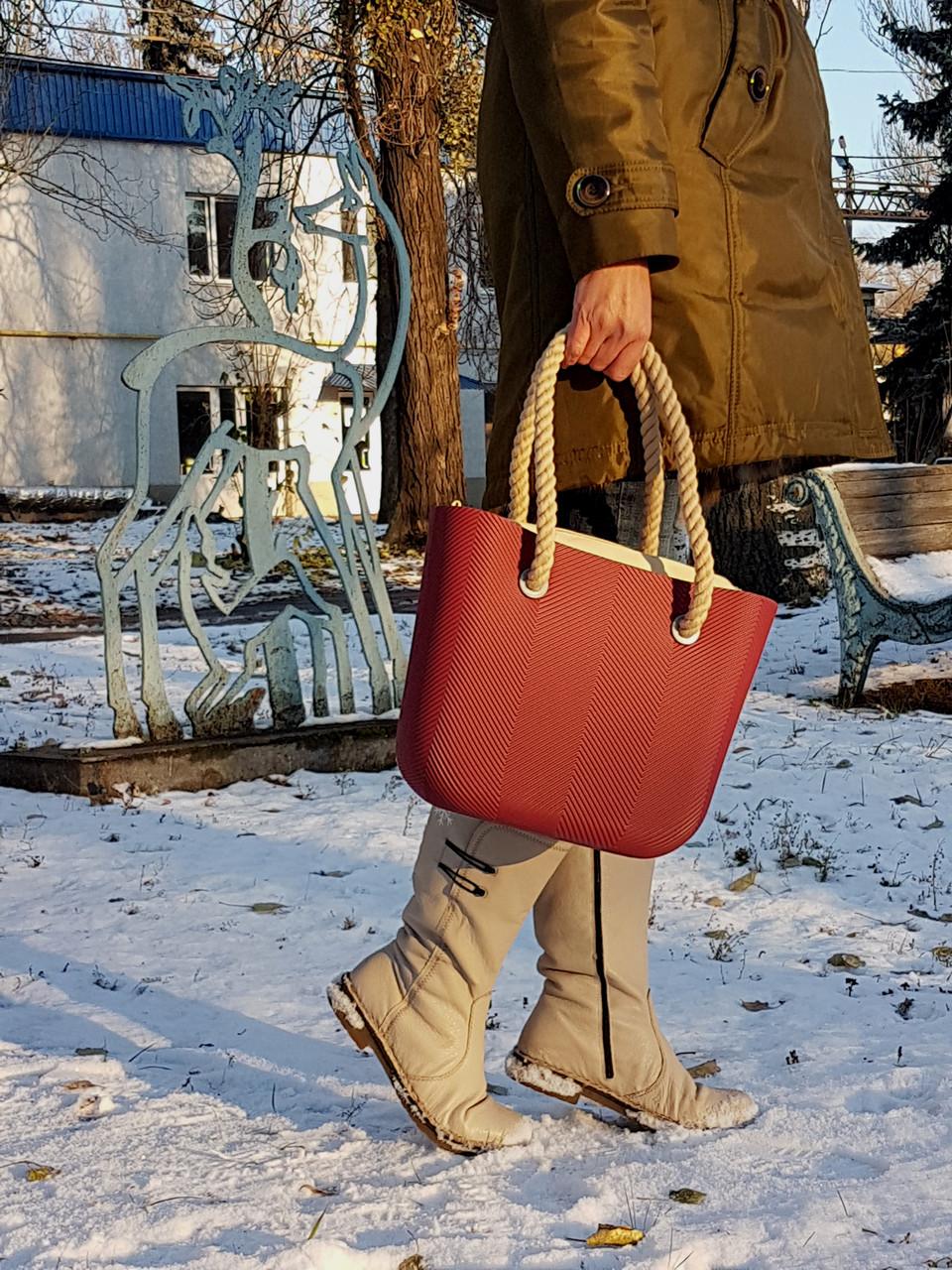 48078459f352 Сумка IQ bag Mini Tree бордо, цена 990 грн., купить в Днепре — Prom ...