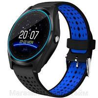 Умные часы Smart Watch V9 (телефон, bluetooth, шагомер,камера, плеер ), фото 1