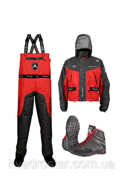 Комплект забродный Finntrail AQUAMASTER SET RED
