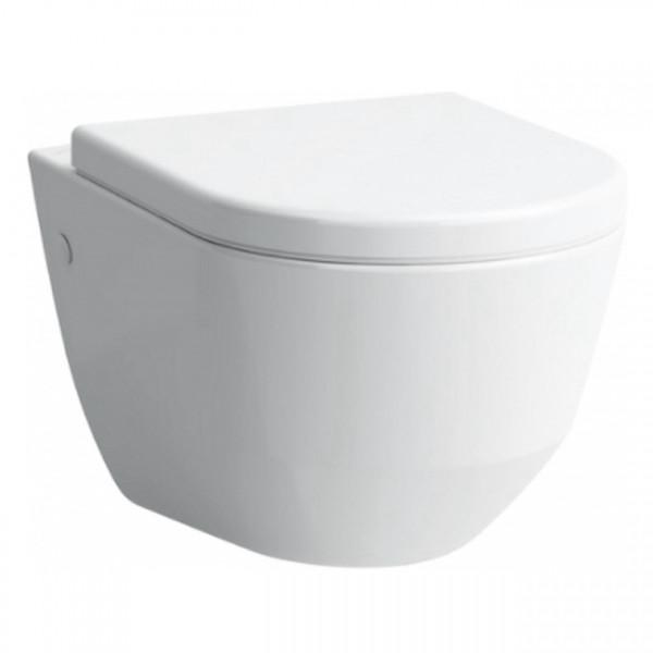 PRO унітаз підвісний Rectangular 36*53см + PRO сидіння до унітазу (slow-closing), антибактеріальне покриття