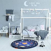 """Игровой коврик мешок """"Космос""""  для лего и мелких деталек, на пикник и в детскую"""