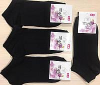 Демісезонні шкарпетки бавовна укорочені POLO Туреччина розмір 36-40 чорні
