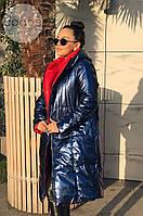 МБ Двустороннее пальто женское теплое