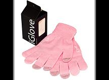 Перчатки для iРhone iGloves Розовые