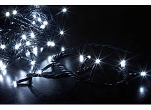 Гирлянда светодиодная LED 100 с черным проводом