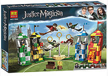 "Конструктор Bela 11004 Justice Magician ""Матч по квиддичу"" (Аналог LEGO Harry Potter 75956), 536 дет."