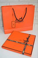 Подарочная коробка,пакет в стиле Hermes