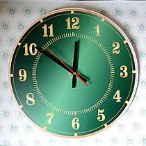 Часы настенные зелёные
