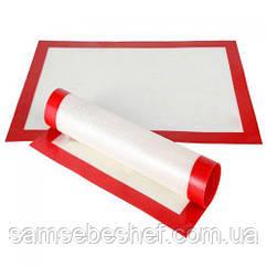 Профессиональный силиконовый коврик для выпекания армированный GA Dynasty 40*30 21010