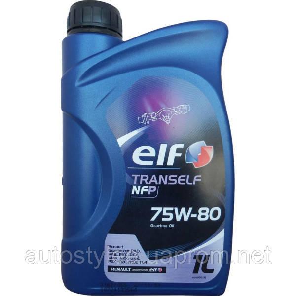 Масло трансмиссионное Elf Tranself NFP 75W-80 1 л.