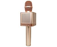 Микрофон MicGeek Bluetooth караоке Q10 Rose Gold, фото 1