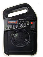 Радио-колонка PowerBank GOLON RX-499BT Черная (sp3922)