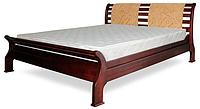Кровать полуторная с натурального дерева в спальню ТИС РЕТРО 2 120*190 сосна