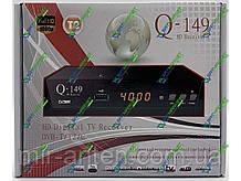 Q-SAT Q-149 DVB-T2 AC3 + пульт навчаний