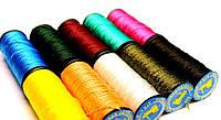 Капроновые нитки для обуви 10шт В упаковке цвет цветные