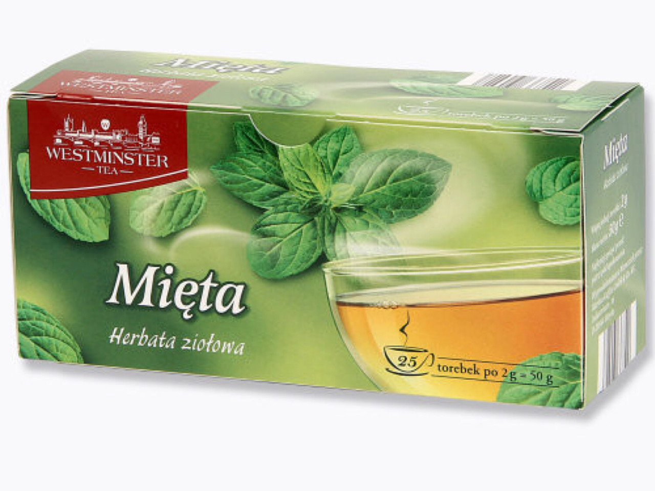 Чай Westminster Mieta 25 пакетов