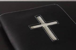 Обкладинка для Біблії з хрестом 15х20,5см, фото 2