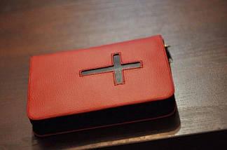 Обкладинка для Біблії з хрестом 15х20,5см, фото 3
