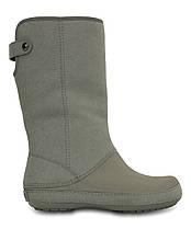 Сапоги crocs berryessa ll synth boot р. w7 23 см, фото 3