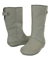 Сапоги crocs berryessa ll synth boot р. w7 23 см