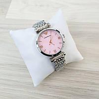 Часы стальные Emporio Armani - цвет корпуса silver