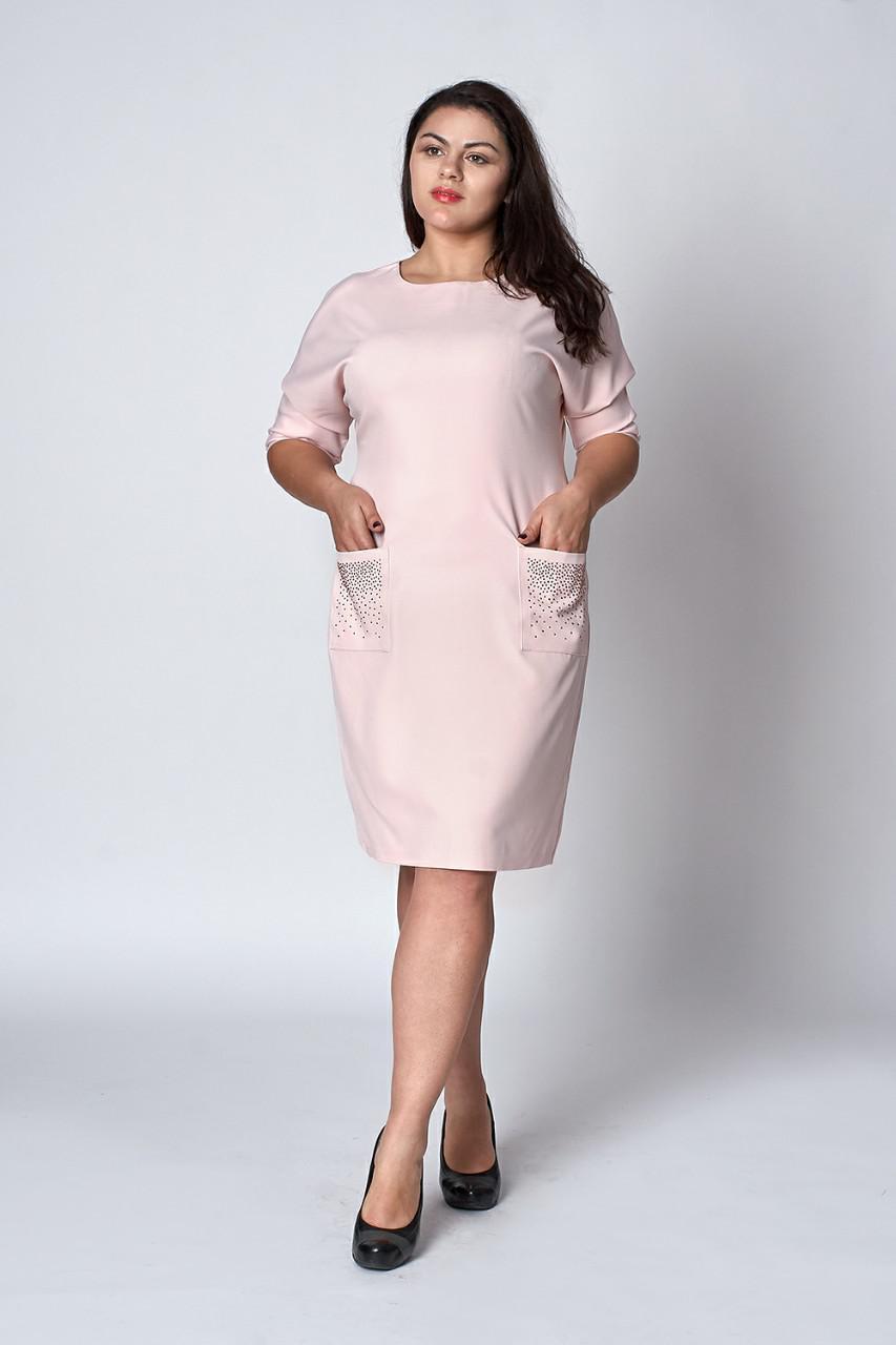 95fb3a19a5ec Нежное женское нежное платье с карманами, 48,50,52: продажа, цена в  Хмельницком. ...